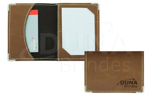 Porta Cartão em Couro