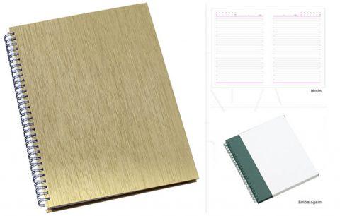 Caderno de negócios personalizado