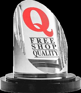 Troféu Prêmio FreeShop Quality